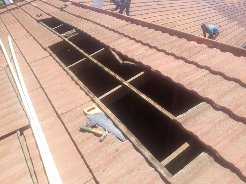 Tile roof repairs – Harvey tile roof in Centurion