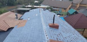 Waterproofing a low pitch tile roof