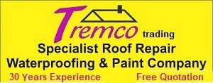 Tremco Trading. Roof repairs, Waterproofing and Painting. Call 0732708270
